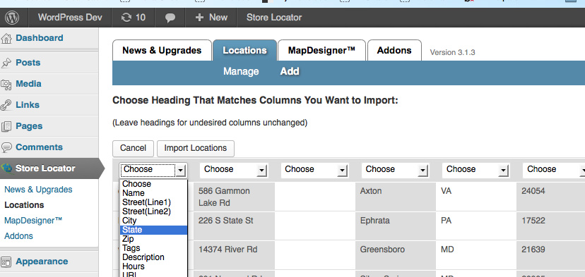 Database Importer G2