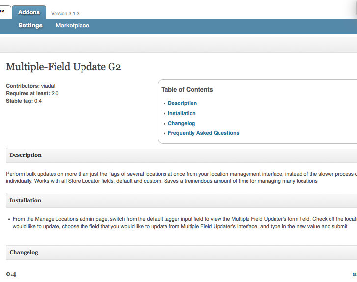 Multiple Field Updater G2